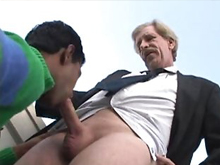 Older gay men behave no less perverted than their young boyfriends and fuck each other the same heavily on the gay suggar daddy porn source