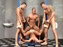The kinkiest men and young boys participate in the Japanese gay boys threesomes and gay orgy xxx videos sticking hard dicks in each otherâs mouth and ass