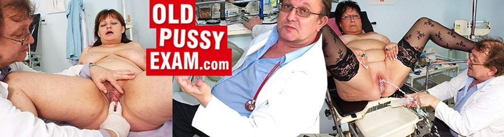 Old pussy exam porn