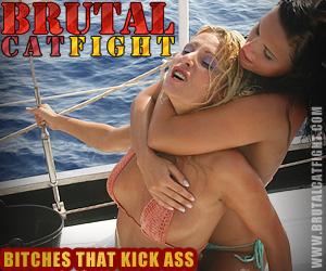 Brutal Catfight