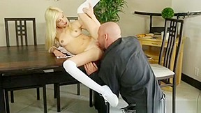 Two girls blowjob huge cock