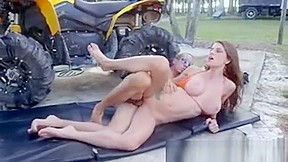 Big tits teen video