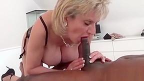 Big cock in tight milf ass