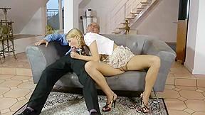 Blonde lesbians doing 69