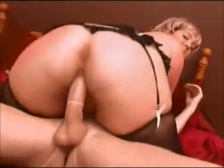 Beautiful mature blonde having sex