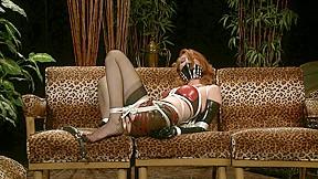Bondage-loving MILF Kendra looks great in stockings