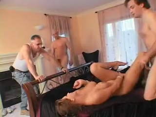 Home video house wife in bondage