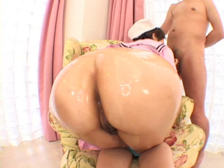 Japanese big booty fuck