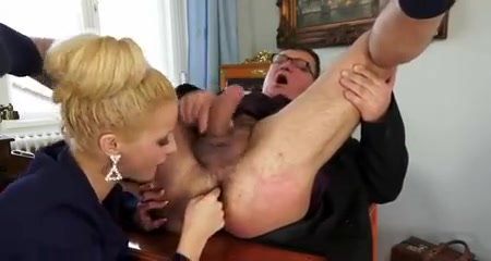 Prostate blowjob