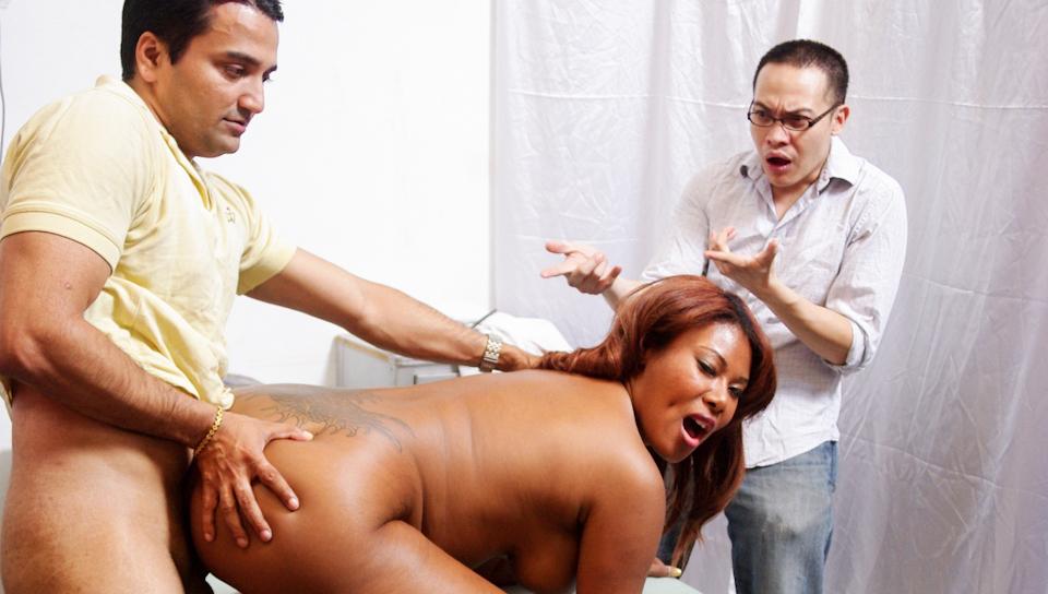 Free ebony wife porn