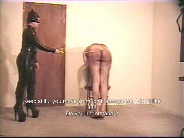 Busty severe disciplinarian
