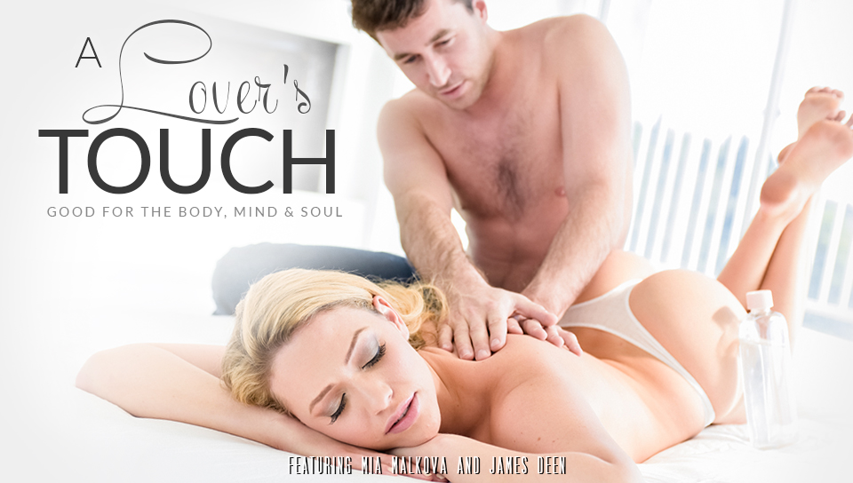 Mia malkova and james deen a lovers touch eroticax