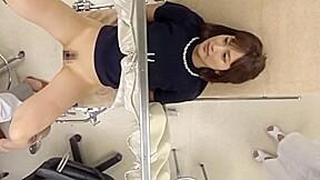 【水谷心音】立場を利用し出産未経験の美人幼妻にカーテン越しに自分のチンポを無理矢理挿入し中出しするドスケベ産婦人科医