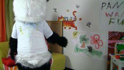 Panda Bear's Got So Many Talents!...