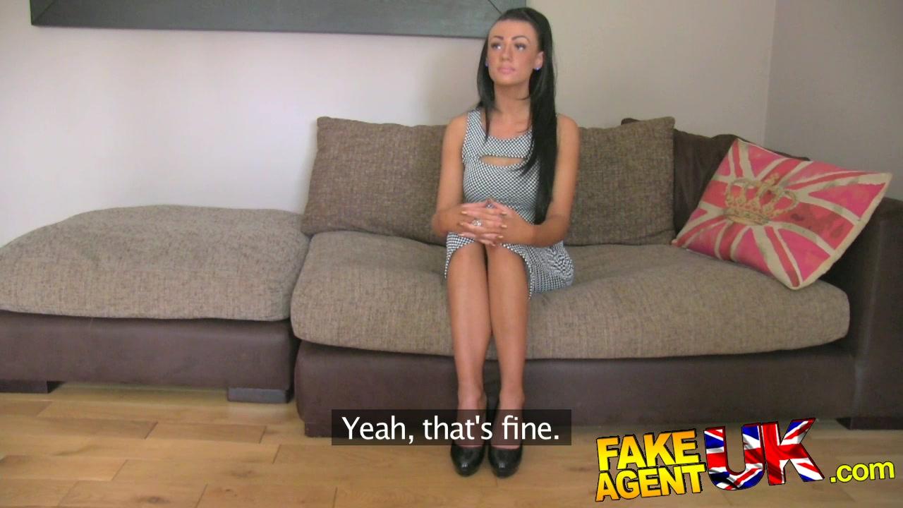 image Fakeagentuk hot tattood minx fooled into fake sex casting