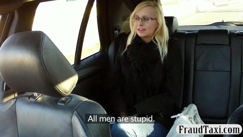 Nerdy amature talked into sex