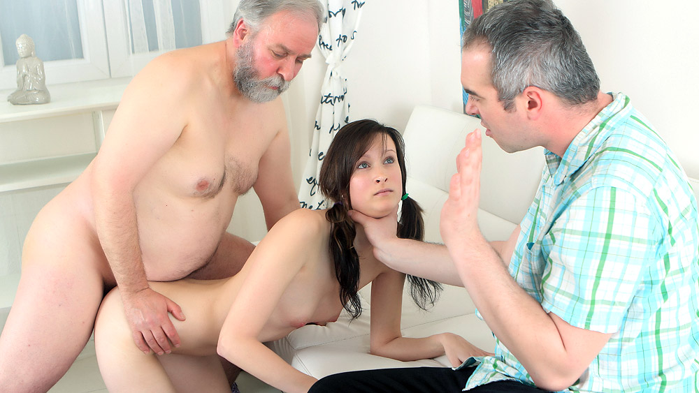 Girl gets fucked by uncle