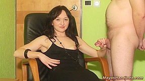 Cfnm girls jerk off boy