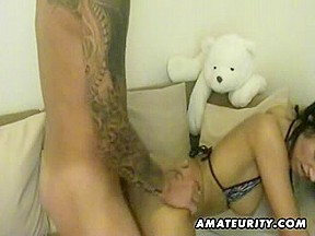 Wicked non-professional legal age teenager anal fuck with facial spunk flow