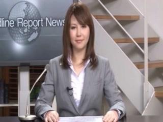 Japanese News Reader Fucked