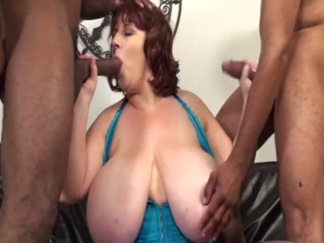 Two cocks for a hot bbw