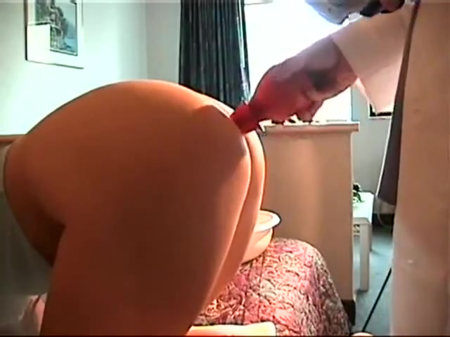 Play doctor nurse sex exam enema