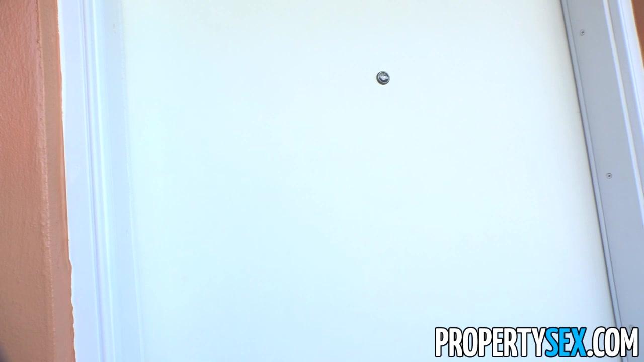 Propertysex - tenant with phenomenal tits