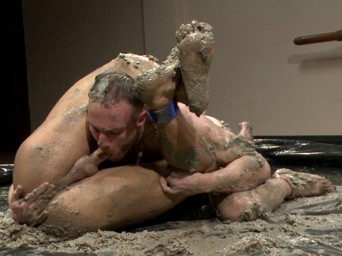 Naked Gay Mud Wrestling