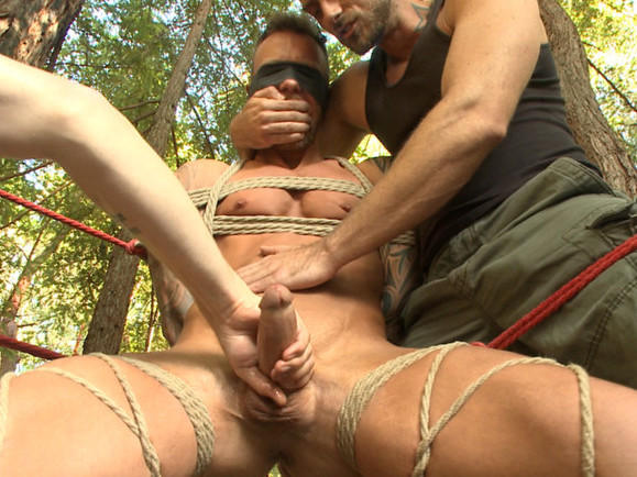 Muscled hunk carjacked and edged porn video tube