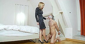 Wife white pantyhose maid