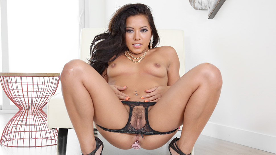 morgan lee anal Asian