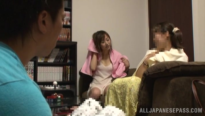 Japanese av facial video