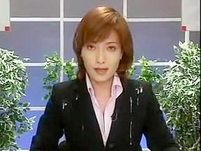 Lesbian bukkake porn video