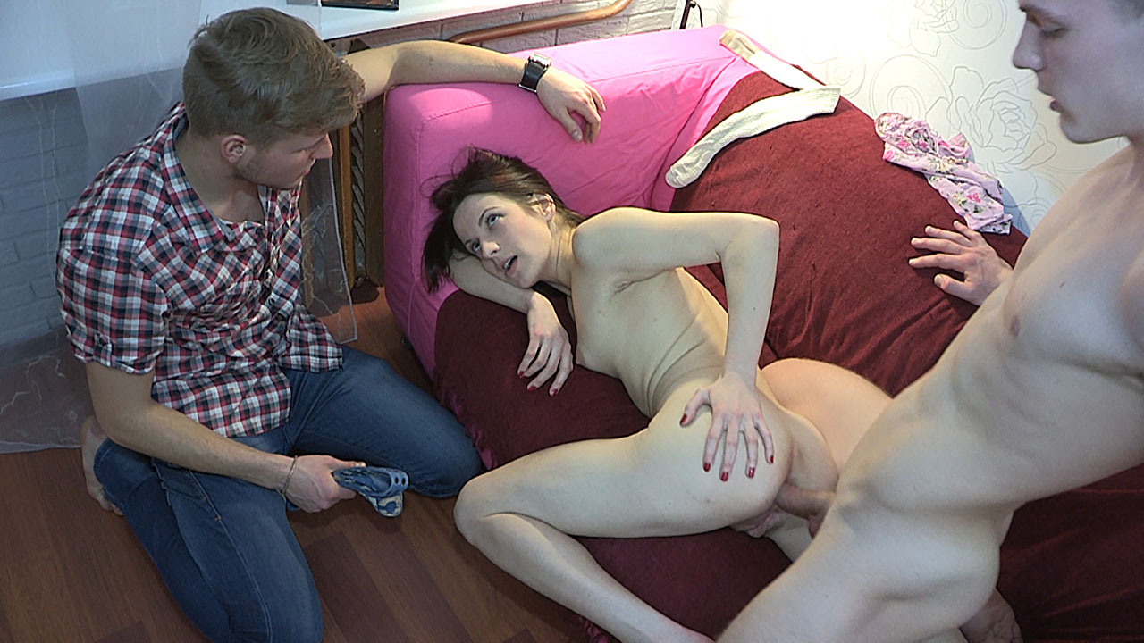 Josh & Lizaveta K & Edward in Punished With Raw Ass Fuck - TrickYourGF /  Trick Your GF XXX Tube Channel