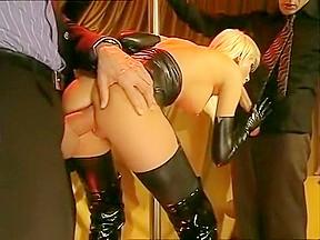 Lesbian dildo double penetration