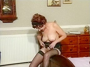 Hairy red pussy video