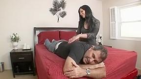 Wife rides big cock