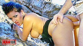 Sexy latina lap dance