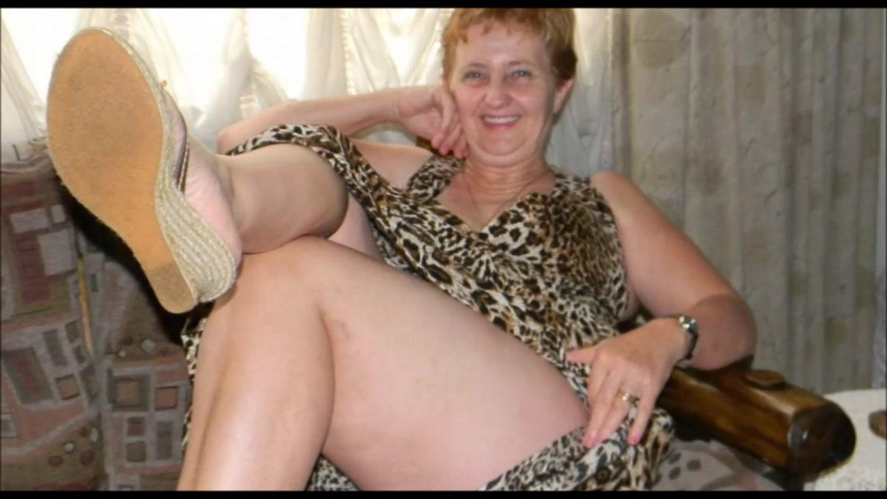 legs Granny hot