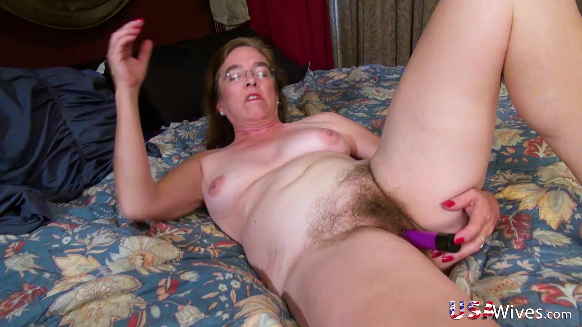 hairy women solo Mature
