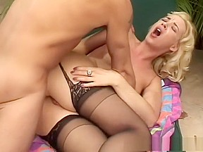 Mom son unwanted creampie bed