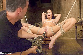 Girl masturbating to squirting orgasm