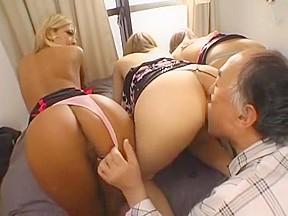 Threesome lesbian dani daniels
