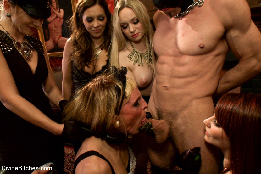 Aiden Starr Sean Spurt Francesca Le Maitresse Madeline Marlowe In Caution Extreme Femdom