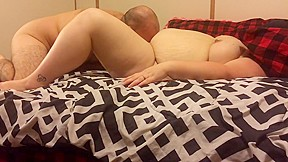 Wife sucks enormous cock