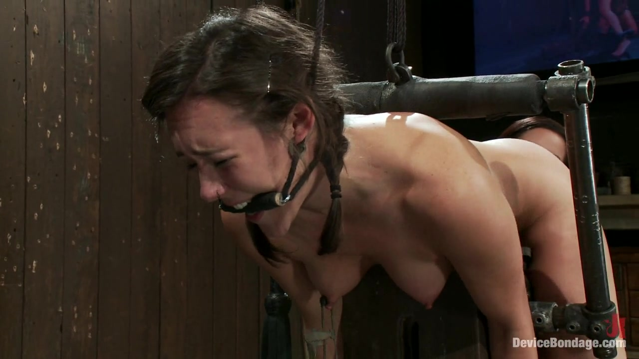 Isis Love Sinn Sage In Bent Over A Post And Fucked -9601