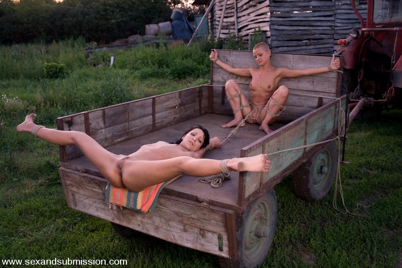 Steve Holmes Sabrina Sweet Cj In Farm Slaves From Budapest -8558