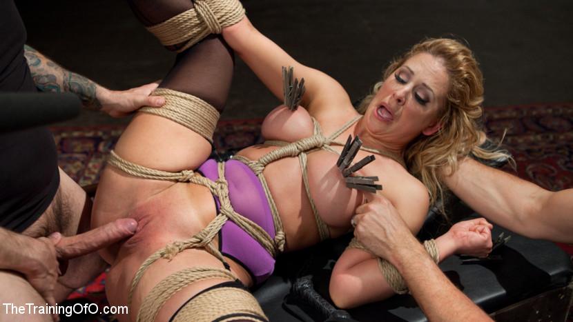Tied Blonde Bdsm Porn Stars | BDSM Fetish