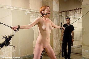 Hot sexy red head fucked