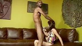 Strip tease for husband